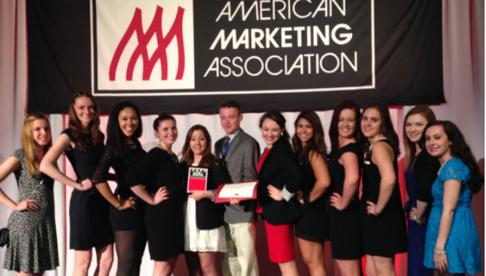 Marketing Club Named Top 25 in Nation