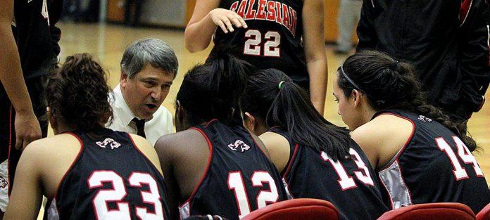 Salesian girls basketball coach named Coach of the season