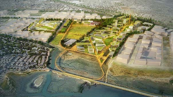 Los angeles firm SHoP wins design ideas exercise for the Berkeley Global Campus at Richmond Bay